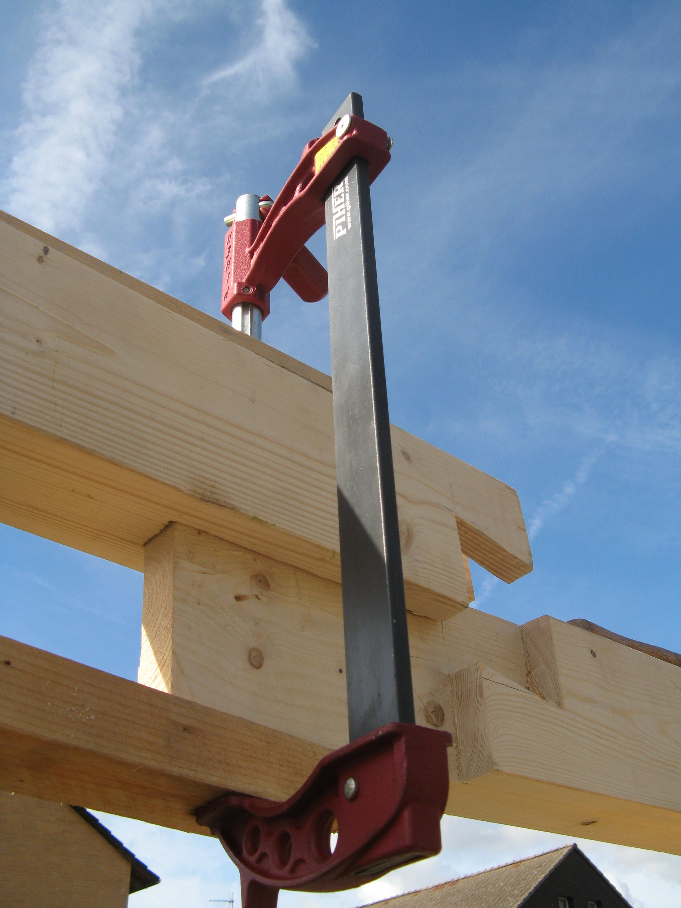 there\'s always another way of doing a scarf joint! | timberframe ...