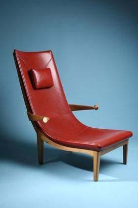 Easy Chair, Senna. Designed by Erik Gunnar Asplund, Sweden. Originally designed 1925 and exhibited at the Paris World Exhibition 1925.  Pinned via pinmarklet
