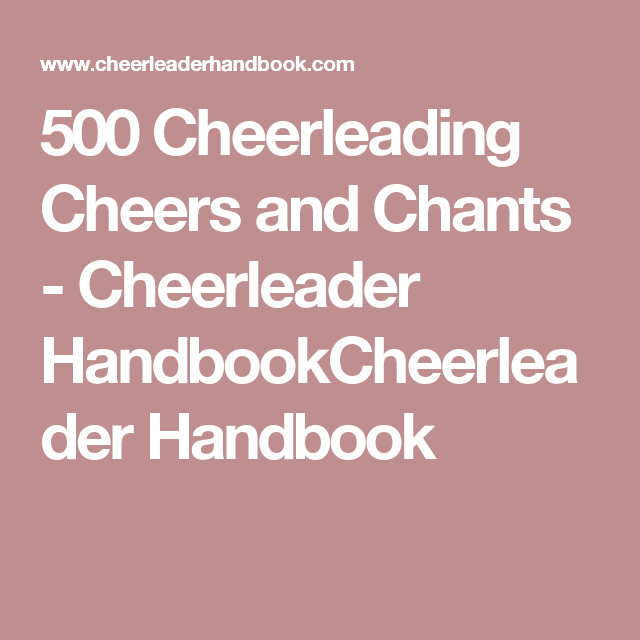 Help Writing Essay Paper Cheerleading Cheers And Chants Cheerleader  Cheerleading Cheers And  Chants Cheerleader Handbookcheerleader Handbook Sample Essay English also Research Essay Topics For High School Students Cheerleading Essay Resume For A Paint And Body Position Religious  Thesis Of An Essay