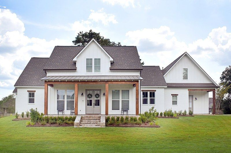 Ad House Plans On Instagram We Re So Excited To See Our Exclusive 3 Bedroom Modern Farmhouse Plan 56451sm In 2020 Farmhouse Plans Modern Farmhouse Plans House Plans