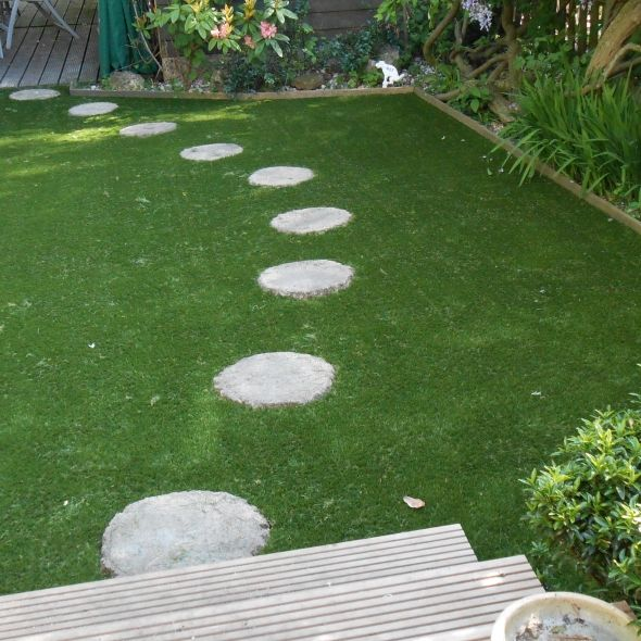 Stepping Stones In Artificial Grass Google Search