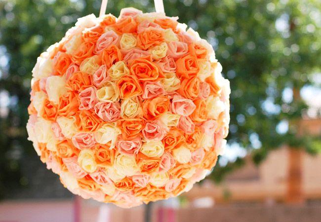 12 Wedding Pinatas We Re Obsessed With Diy Pinata Wedding Pinata Diy Roses