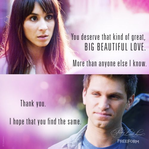 Spoby will always be our endgame. | Pretty Little Liars | Pretty ...