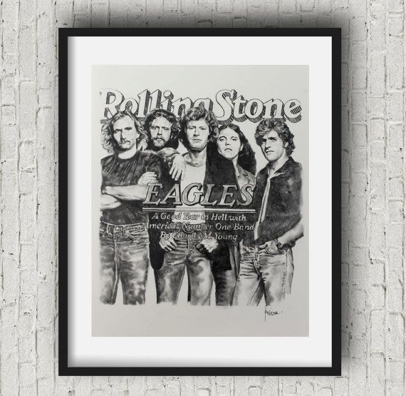 The Eagles Rolling Stones Magazine Rolling Stones Eagles