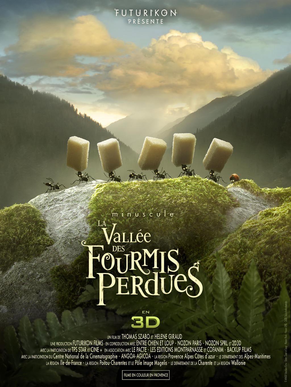 Minuscule La Vallee Des Fourmis Perdues Fourmis Affiche Film Film