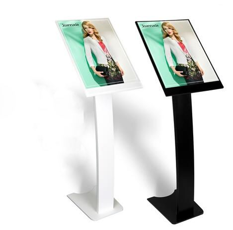 Blackwhite A3 Advertising Display Rack Poster Frame Floor Stand