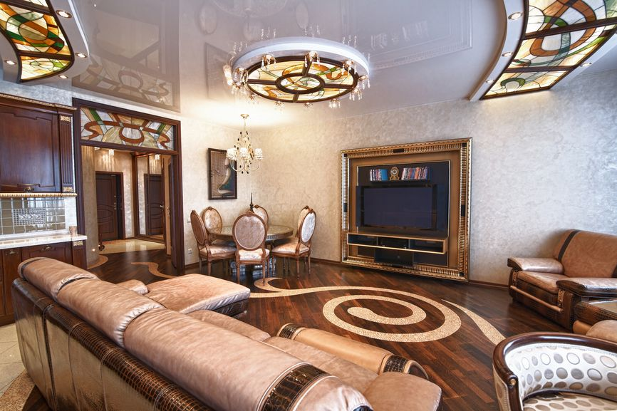 201 Family Room Design Ideas For 2017  Stucco Walls Family Room Simple Wood Design Living Room Decorating Design