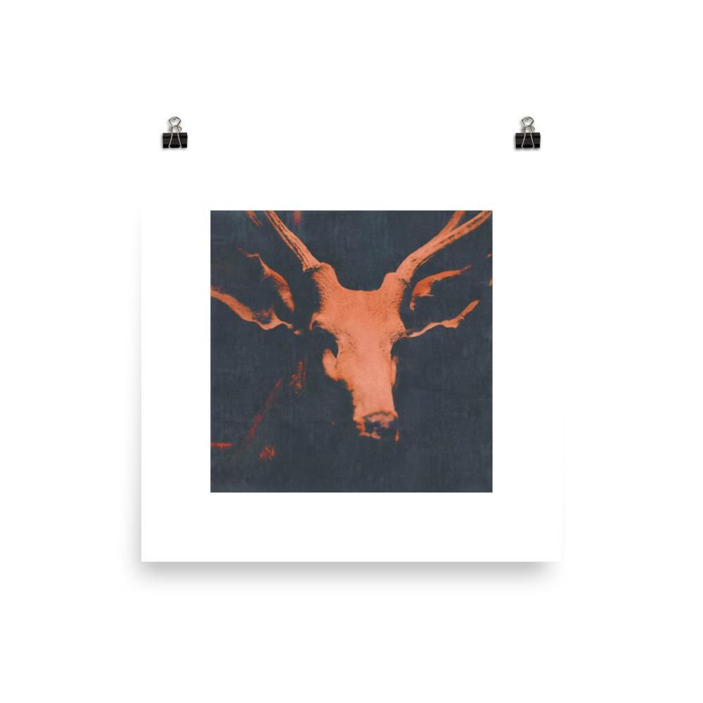 Pin By Original Gallery Walls Art Prints On Luxury And: Stag Head