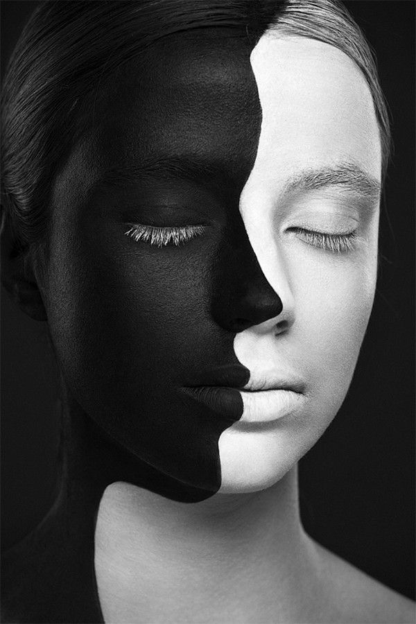 Makeup Tips Carnival Is The Face Painting Allow Black And White Makeup Face Illusions Face Painting