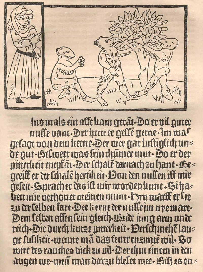 Pfister.faks.1 - 15th century in literature - Wikipedia, the free encyclopedia