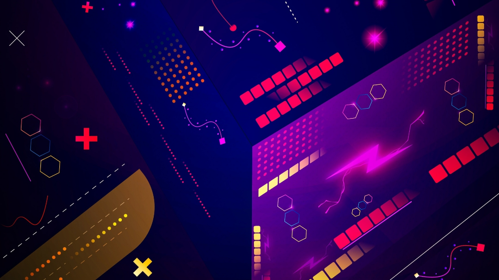 Download 1920x1080 wallpaper vector, design, gamming sytle