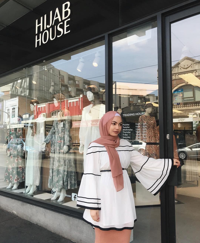 40 Tradizionale Bianco Hijab PIN