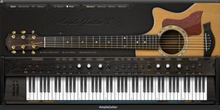 Amplesound Net Guitar Instruments Electro Acoustic Guitar