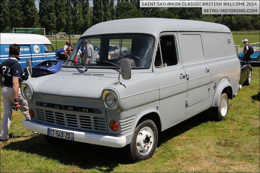 Grey Ford Transit Mk1 Van With Images Ford Transit Vans