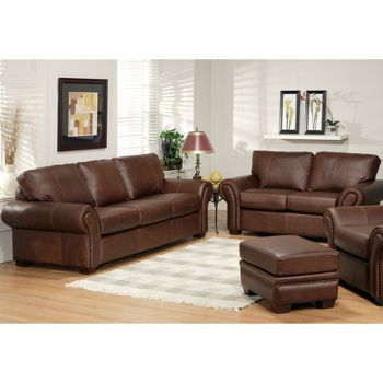 Bellagio Leather Sofa And Loveseat Costco