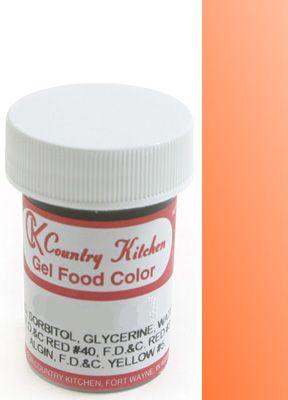 Orange Food Paste Coloring | Cake decorating supplies | Pinterest ...