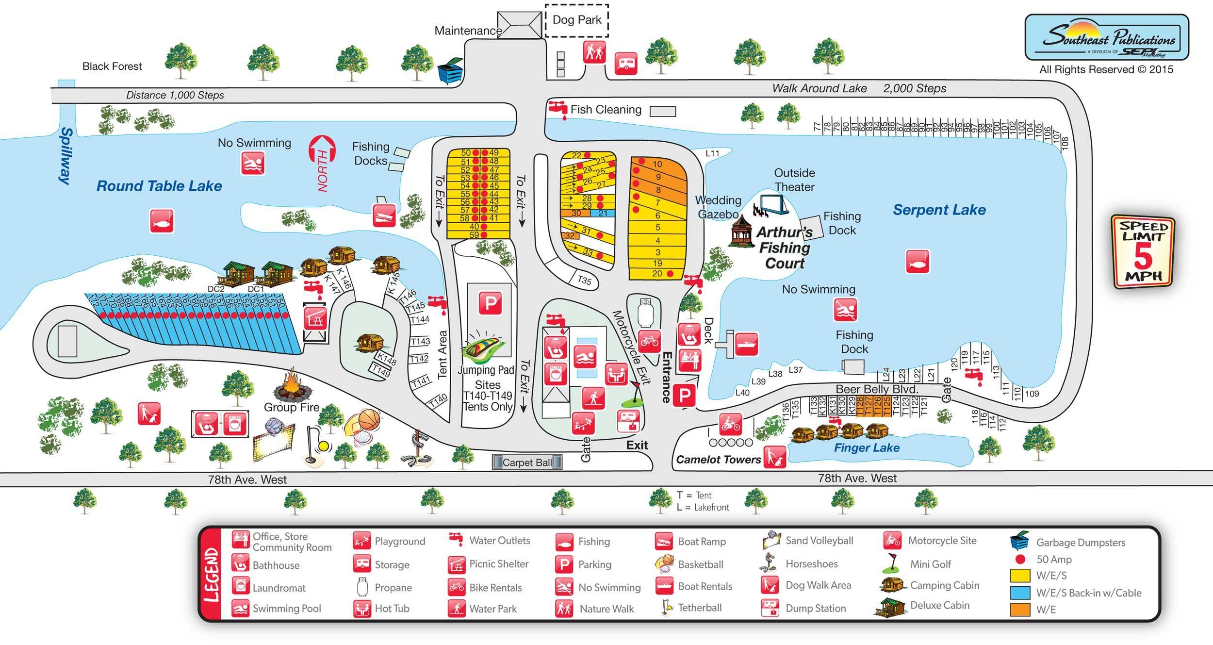 Koa Illinois Map.Davenport Koa Nc Trip 2016 Pinterest Camping Campsite And