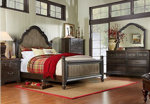 Rooms To Go Bedroom Sets Queen shop for a arbor ridge 5 pc queen poster bedroom at rooms to go