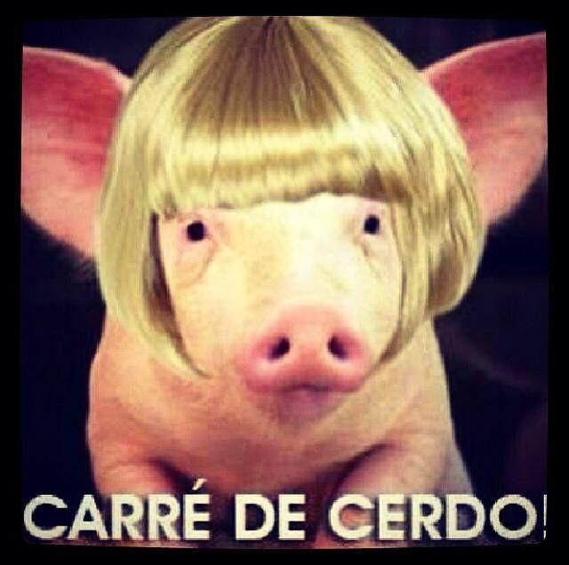 Un buen carre de cerdo...