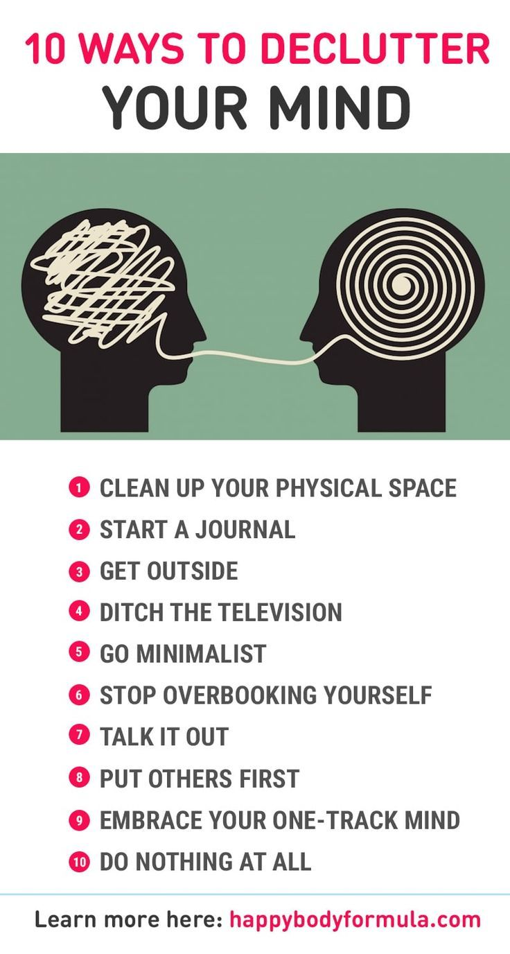 10 Ways to Declutter Your Mind - Happy Body Formula