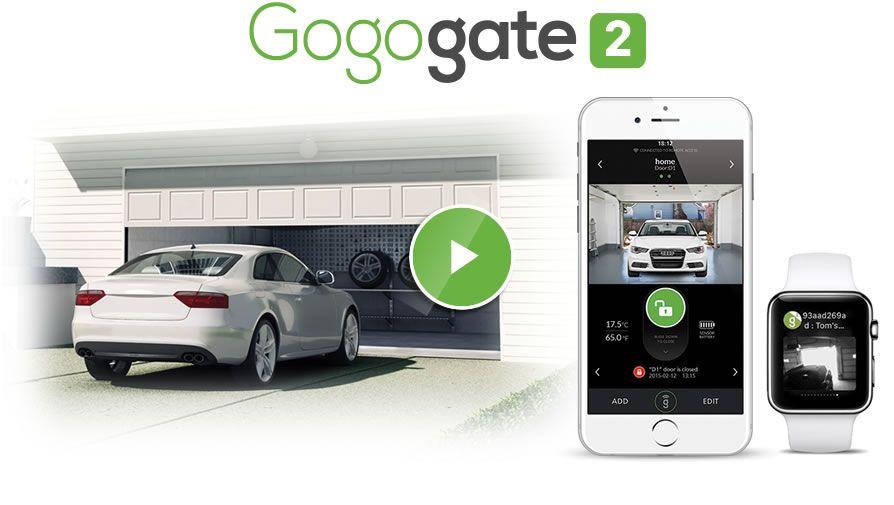 ismartgate is gogogate Smart garage door opener, Kit
