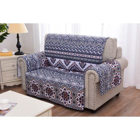 Brilliant Global Trends Maya Saffron Quilted Furniture Cover Protector Inzonedesignstudio Interior Chair Design Inzonedesignstudiocom