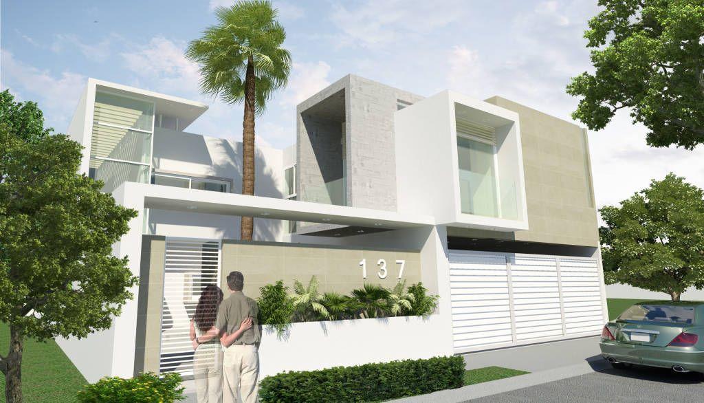 Casa canada de flores rojas arquitectura arquitectura for Casa minimalista tlalpan