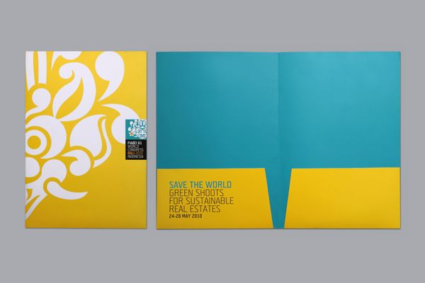 fiabci 61 pocket folderbrown fox studio | folder design ideas, Powerpoint templates