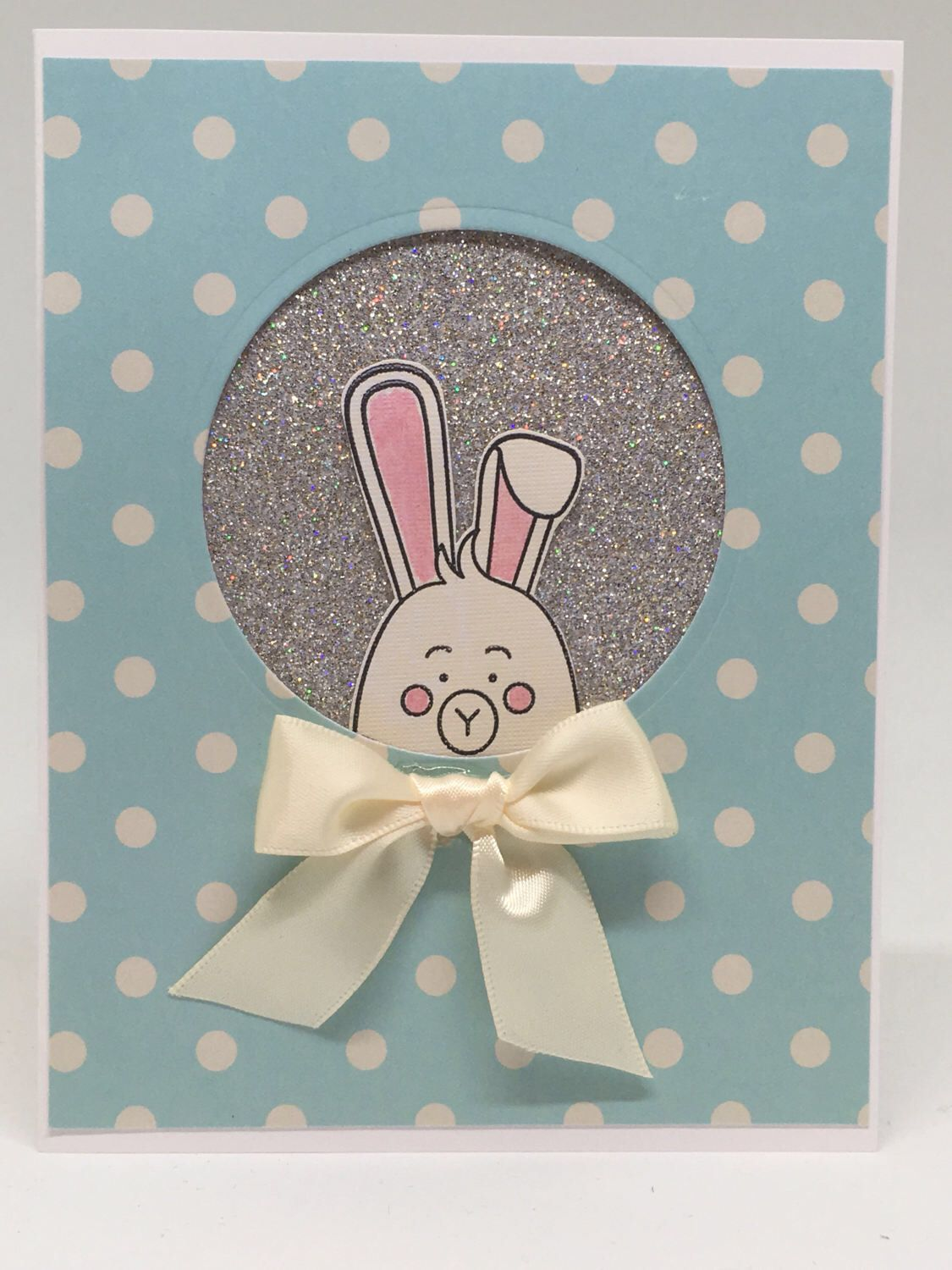 Handmade Easter Card, Handcrafted Easter Card.  Free Shipping to US & APO/FPO. by FingerStringPaperCo on Etsy https://www.etsy.com/listing/517756785/handmade-easter-card-handcrafted-easter