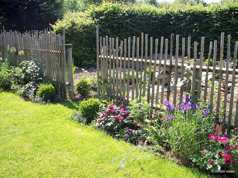 Historic Stick Fence I Could Make This Garden Vegetable Garden