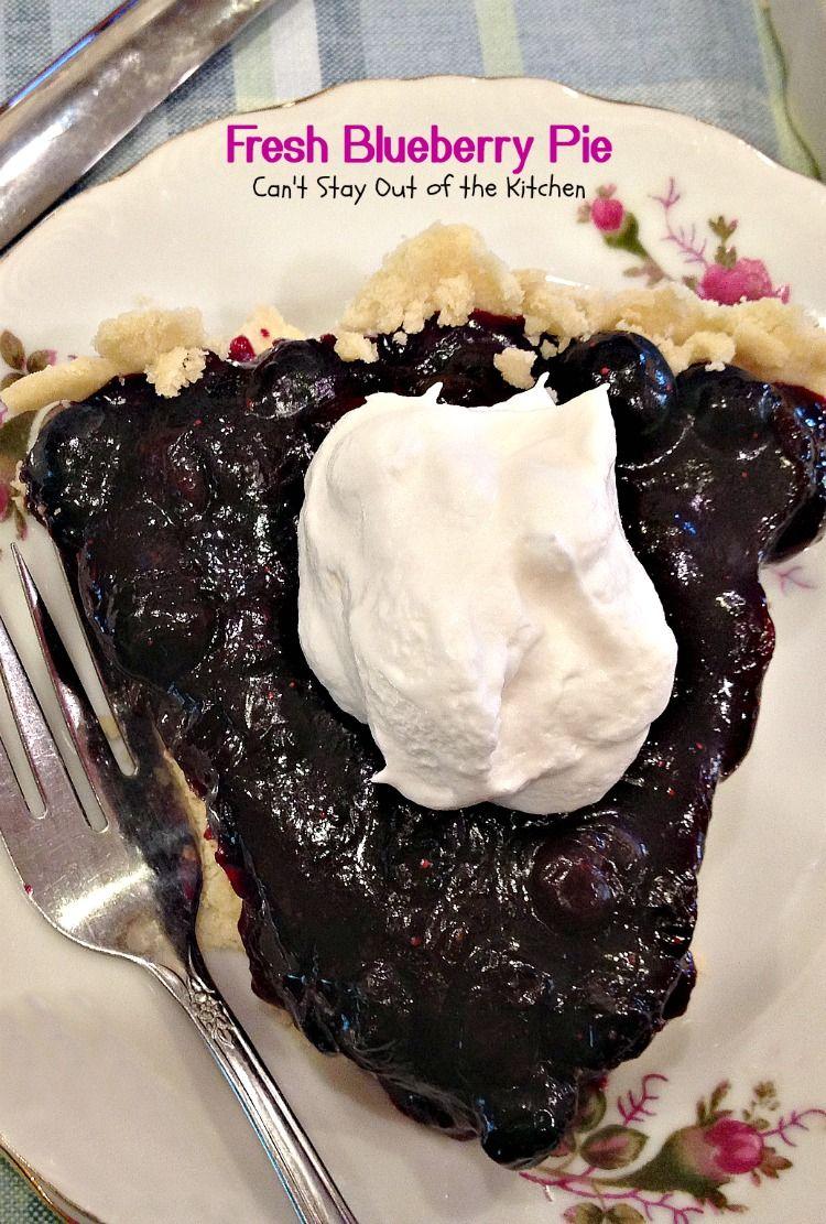 Fresh blueberry pie recipe fresh blueberry pie