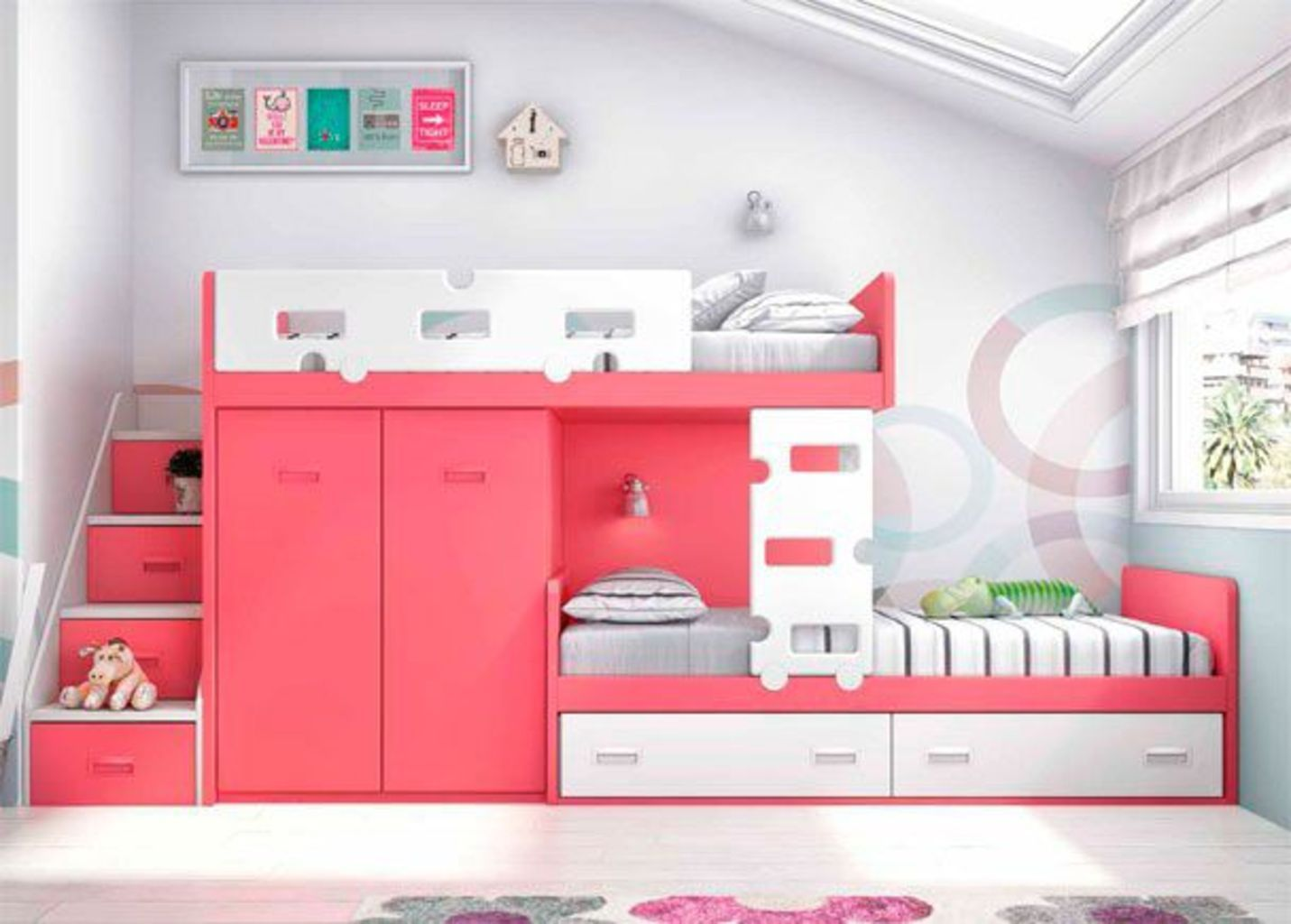 Amazing Bunk Bed Ideas For a Dream Girls and Sisters Room You Wish You Had As A Kid Part 14 images