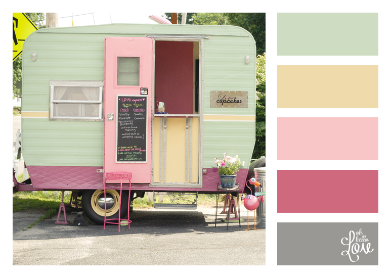 Oh Hello, Love!: Color Palette: Love Cupcakes
