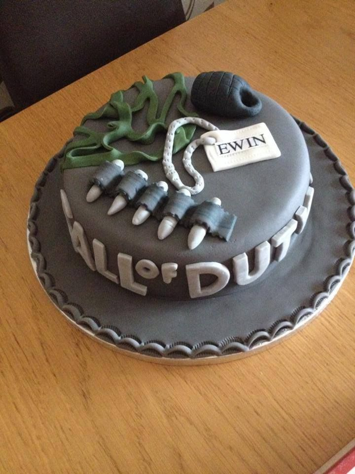 Pin By Chris Lewis On Call Of Duty Cake Pinterest Birthday Cakes