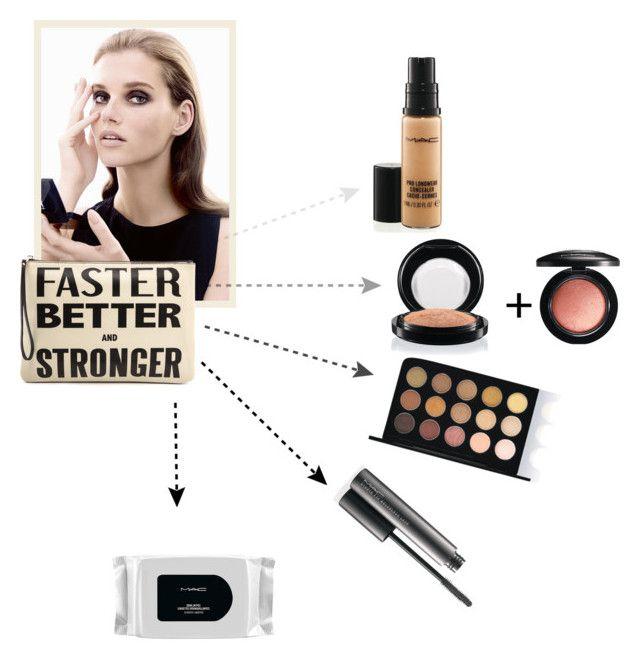 """""""Quick Fix w/ MAC"""" by bjigg ❤ liked on Polyvore featuring beauté, Karen Walker et MAC Cosmetics"""