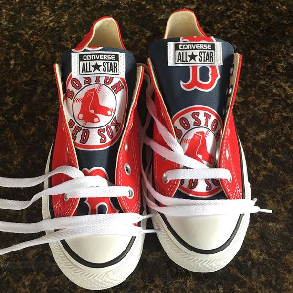 red sox converse shoes - 63% OFF - ser