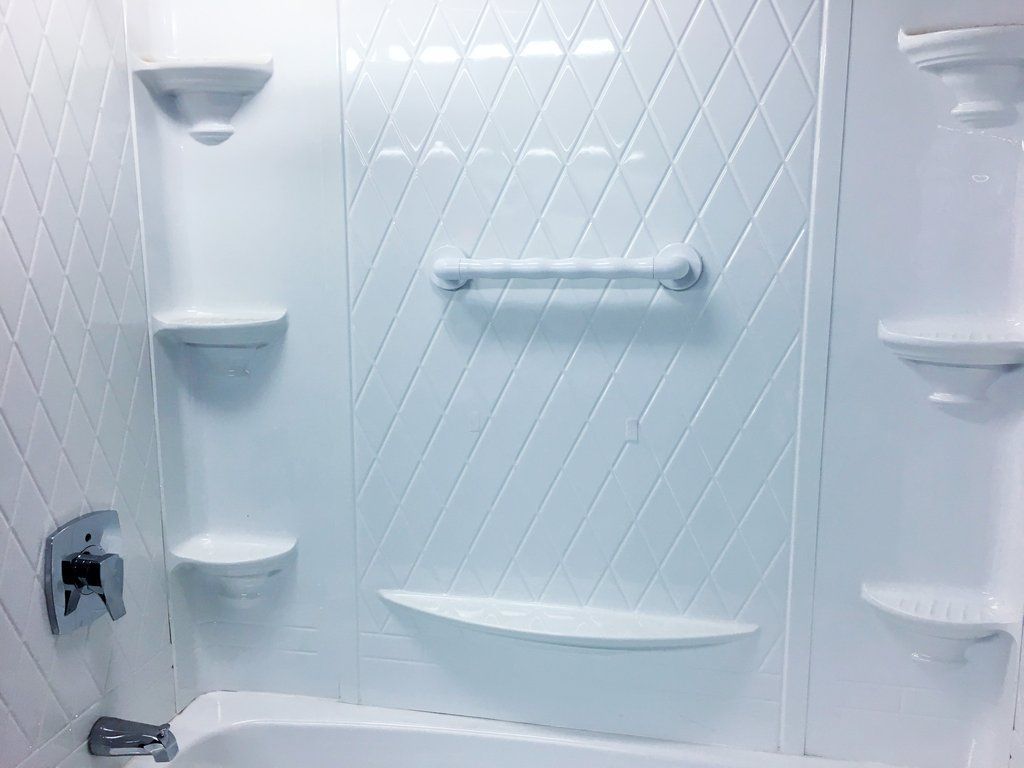 Fiberglass Shower Can Present A Problem For Grab Bar Installations