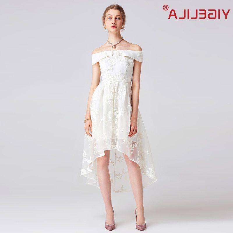 #yigelila #2017 #latest #summer #women #fashion #slash #neck #shoulder #empire #long #white #beach #mesh #lace #dress #62716 #dresses