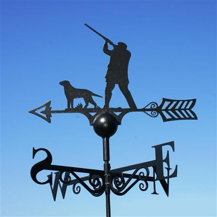 Gap Man & Dog Weathervane, $90 !!