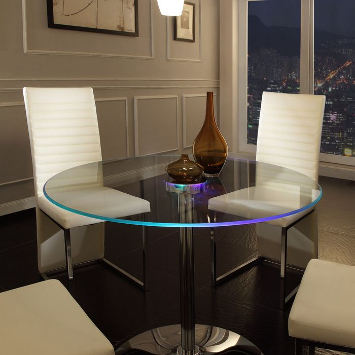 Home Creek Elysium LED Dining Table  round . high $.