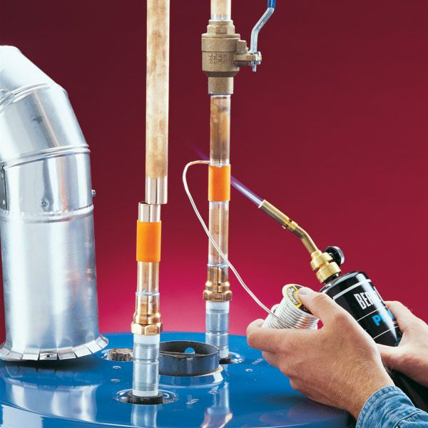 Diy Water Heater Installation Water Heater Installation Hot Water Heater Water Heater Repair