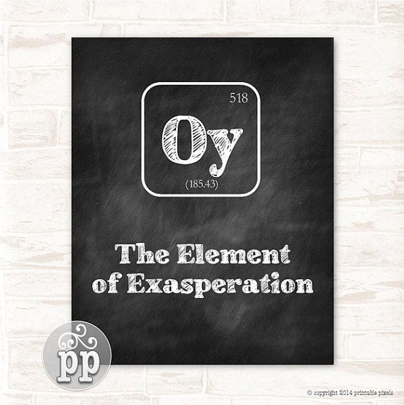 Periodic table oy the element of exasperation by printablepixels periodic table oy the element of exasperation by printablepixels urtaz Images