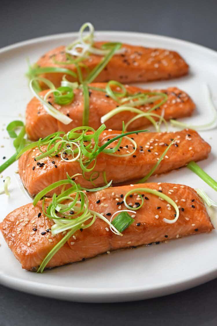Easy Teriyaki Salmon images