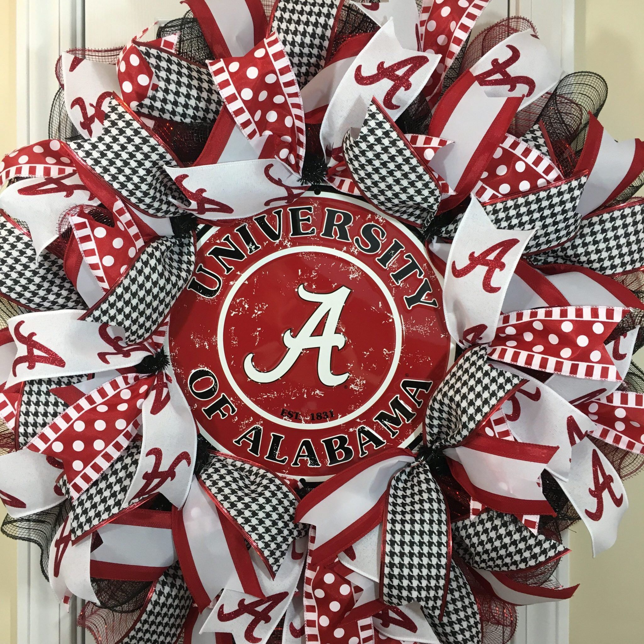 3541538044b0 Excited to share this item from my  etsy shop  Alabama Wreath