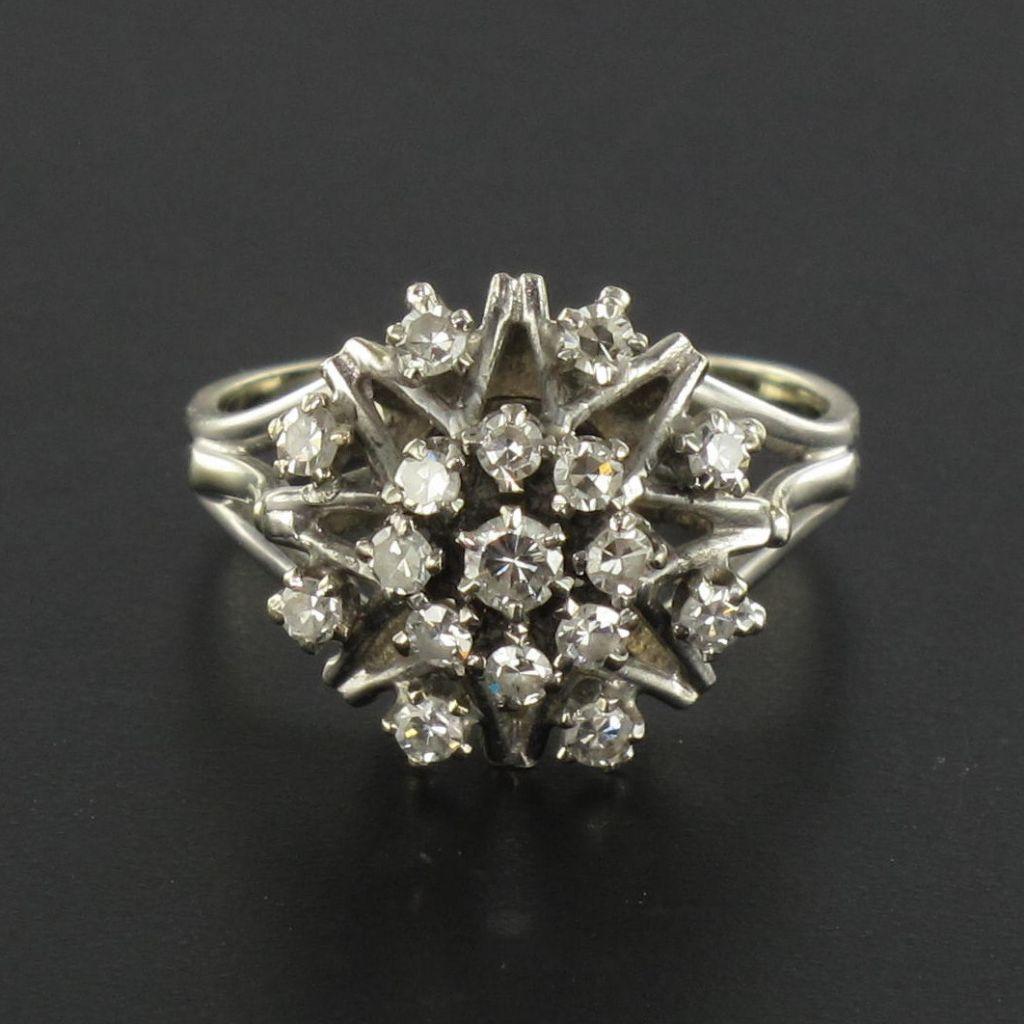 bague diamant chou