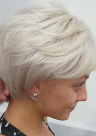 50 Best Hairstyles For Thin Hair Over 50 Stylish Older Women Photos Thin Hair Haircuts Very Short Haircuts Short Hair With Layers