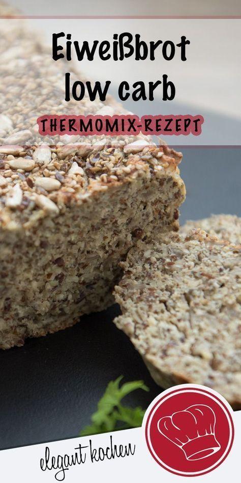 Eiweißbrot low carb backen - Rezepte -
