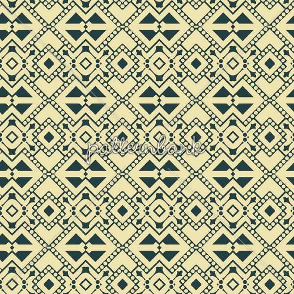 A tribal geometric design made up of abstract design elements.