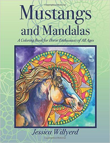 Amazon Com Mustangs And Mandalas A Coloring Book For Horse Enthusiasts Of All Ages 9781540708564 Jessic Coloring Books Horse Coloring Books Horse Coloring