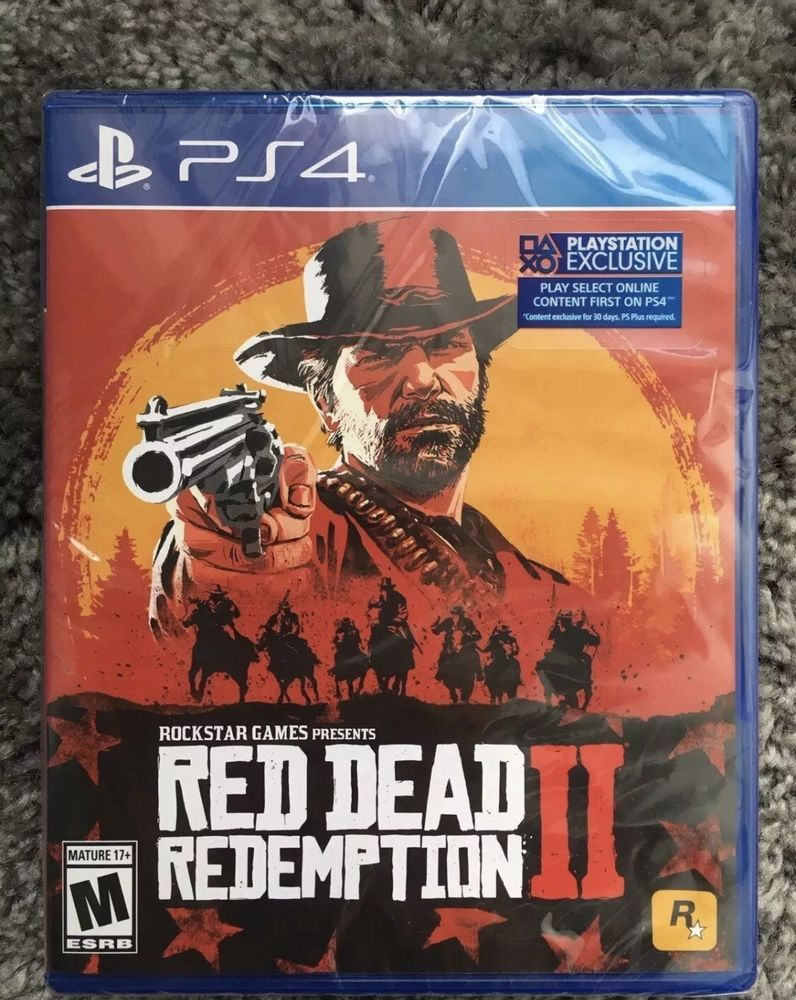 Brand New Sealed Red Dead Redemption 2 Ps4 Rdr2 Red Dead Redemption Video Games Ps4 Games